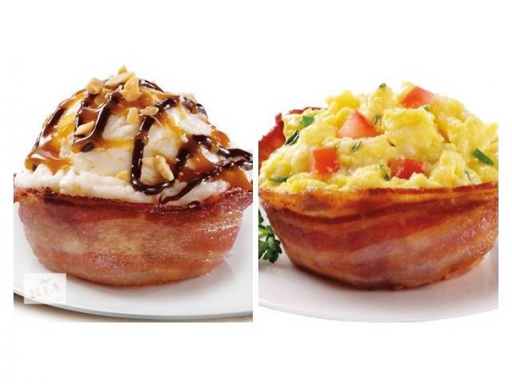 Фото - Съедобная тарелка из бекона perfect bacon bowl купить в киеве на подарок, цена, отзывы