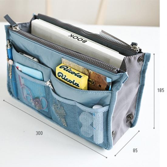 Фото - Органайзер Bag in bag maxi голубой купить в киеве на подарок, цена, отзывы