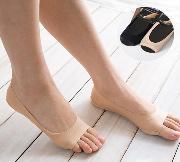 Фото - Капроновые носочки с защитой от натирания купить в киеве на подарок, цена, отзывы