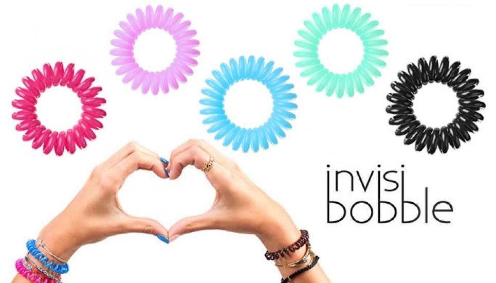 Фото - Резинка - браслет invisibobble 3 шт микс купить в киеве на подарок, цена, отзывы