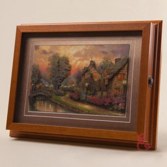Фото - Ключница настенная Осенний Закат 35x27см купить в киеве на подарок, цена, отзывы