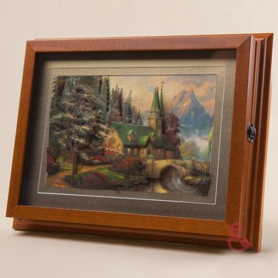 Фото - Ключница настенная Горная Церквушка 35x27см купить в киеве на подарок, цена, отзывы