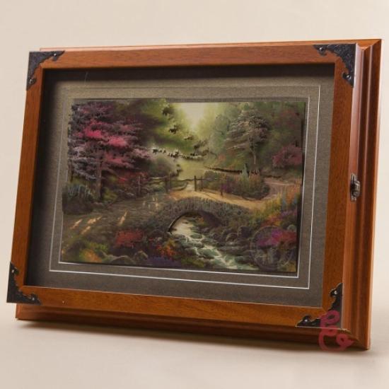 Фото - Ключница настенная Ручей 35x27см купить в киеве на подарок, цена, отзывы