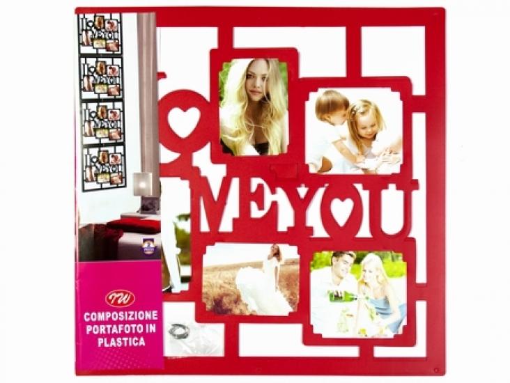 Фото - Фоторамка Love you Red купить в киеве на подарок, цена, отзывы