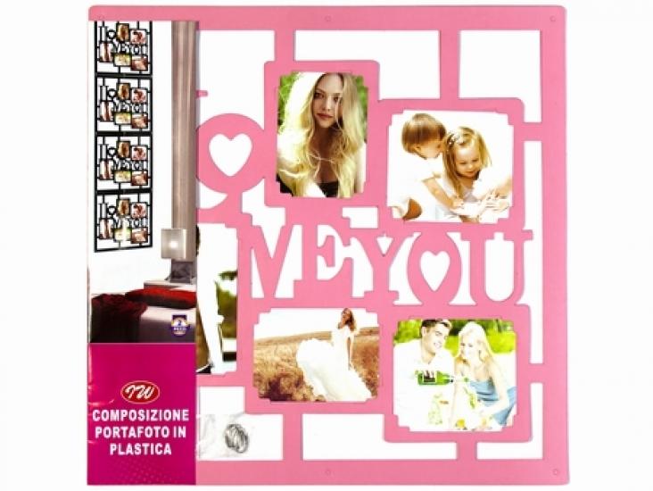 Фото - Фоторамка Love you Pink купить в киеве на подарок, цена, отзывы