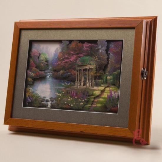 Фото - Ключница настенная Беседка 35x27см купить в киеве на подарок, цена, отзывы