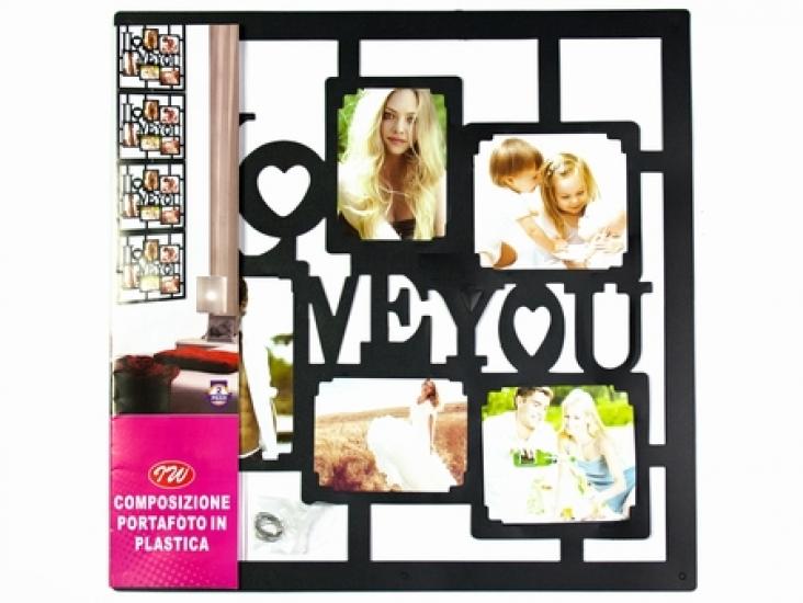 Фото - Фоторамка Love you Black купить в киеве на подарок, цена, отзывы