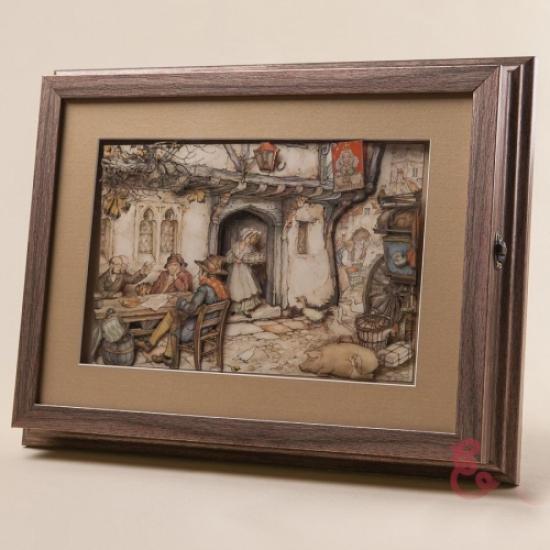 Фото - Ключница настенная Паб 35x27см купить в киеве на подарок, цена, отзывы