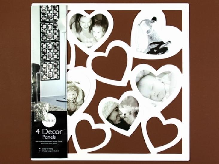 Фото - Фоторамка hearts white купить в киеве на подарок, цена, отзывы