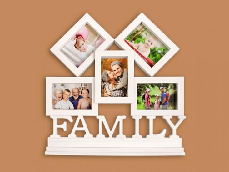 Фото - Фоторамка Family White купить в киеве на подарок, цена, отзывы
