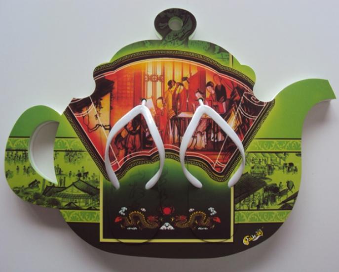 Фото - Тапки вьетнамки Китайский Чайник (42, 38 размеры) купить в киеве на подарок, цена, отзывы