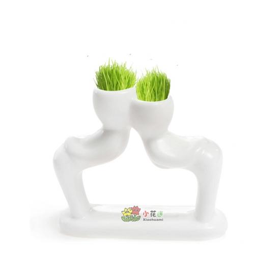 Фото - Керамический горшочек настольный с семенами 1.2 купить в киеве на подарок, цена, отзывы