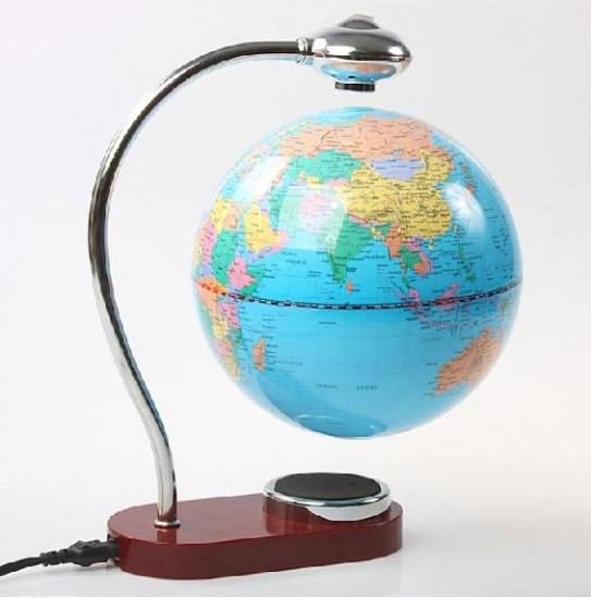 Фото - Левитирующий глобус северное сияние купить в киеве на подарок, цена, отзывы