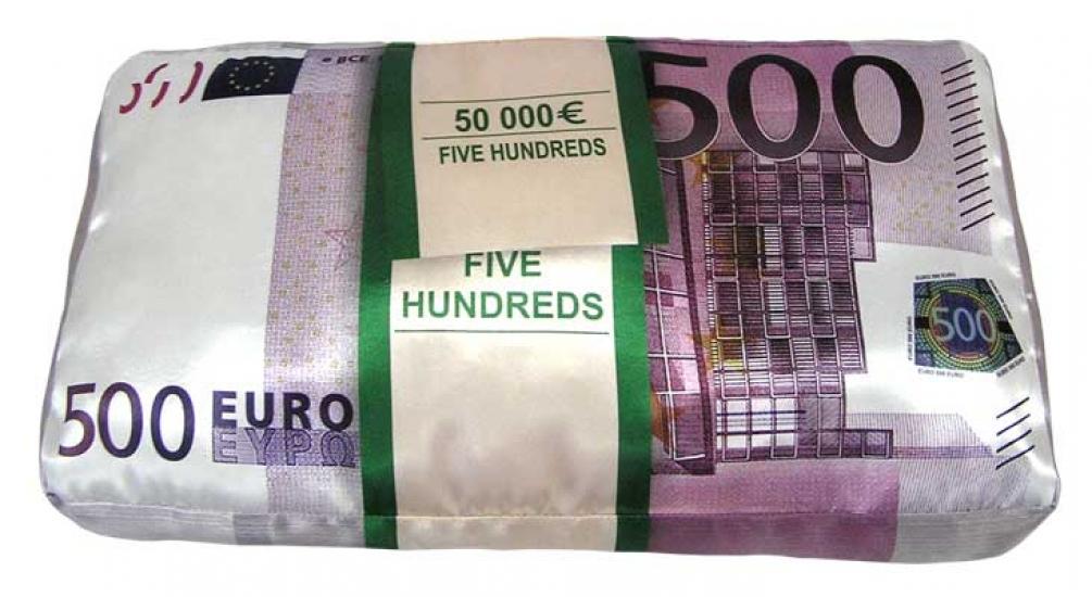 Фото - Подушка 500 евро купить в киеве на подарок, цена, отзывы