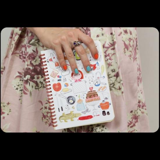Фото - Кулинарная книга - Учусь готовить + комплект наклеек купить в киеве на подарок, цена, отзывы
