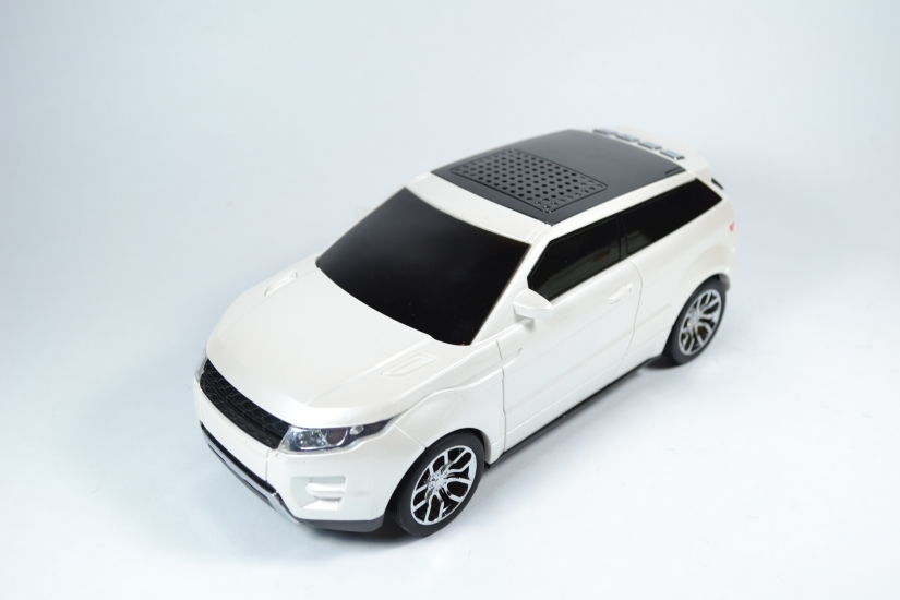 Фото - Колонка-машинка Land Rover Evoque купить в киеве на подарок, цена, отзывы