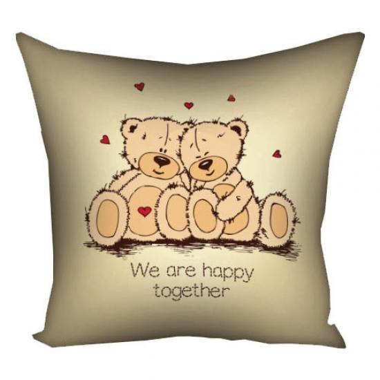 Фото - Подушка We are happy together купить в киеве на подарок, цена, отзывы