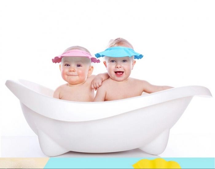 Фото - Шапочка для купания младенцев Розовая купить в киеве на подарок, цена, отзывы