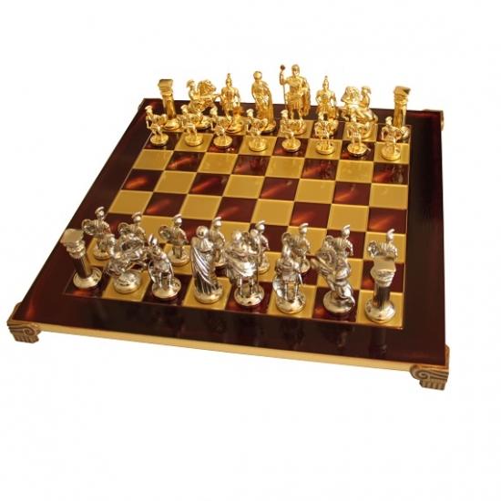Фото - Шахматы Manopoulos Греко-римские Red 44х44см купить в киеве на подарок, цена, отзывы