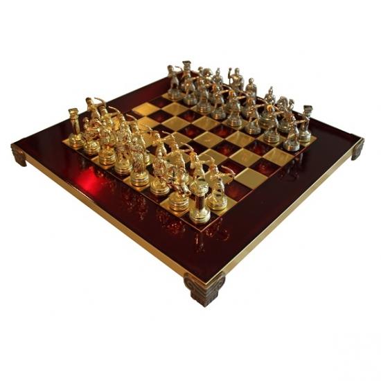 Фото - Шахматы Manopoulos Греко-римские Лучника 28х28см купить в киеве на подарок, цена, отзывы
