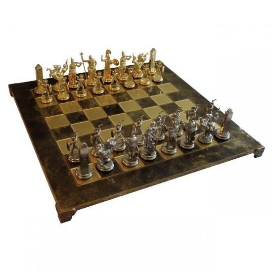 Фото - Шахматы Manopoulos Греко-римские Троянская Война 54х54см купить в киеве на подарок, цена, отзывы