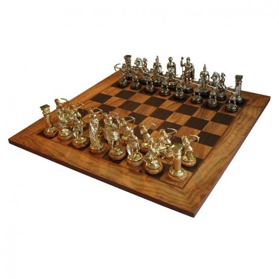 Фото - Шахматы Manopoulos Греко-римские Оливковый совет 50х50см купить в киеве на подарок, цена, отзывы