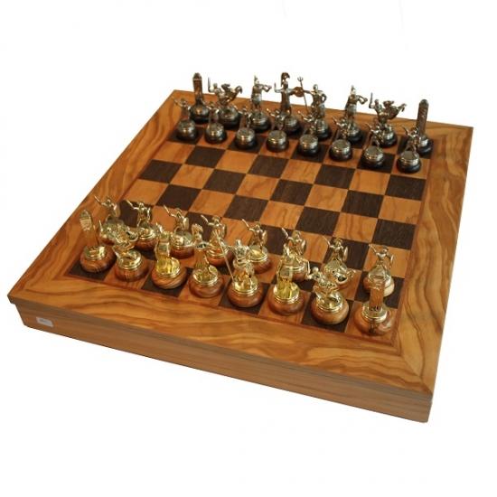 Фото - Шахматы Manopoulos Греко-римские Оливковый совет война 41х41см купить в киеве на подарок, цена, отзывы