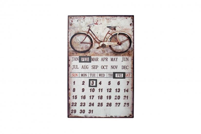 Фото - Вечный календарь Велосипед 40см купить в киеве на подарок, цена, отзывы