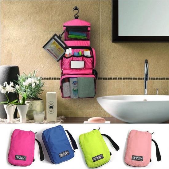 Фото - Органайзер дорожный для ванной розовый купить в киеве на подарок, цена, отзывы