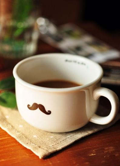 Фото - Чашка кувшин  усы Moustache Zakka купить в киеве на подарок, цена, отзывы