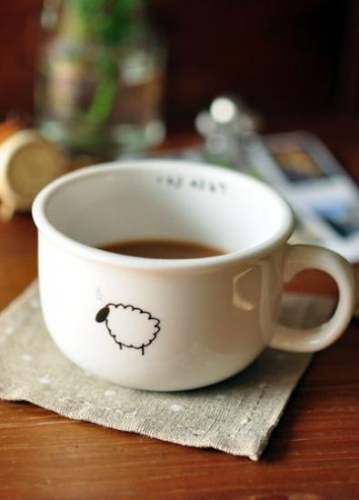 Фото - Чашка кувшин Овечка Zakka купить в киеве на подарок, цена, отзывы