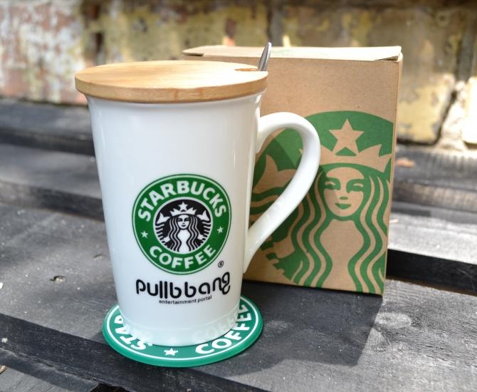 Фото - Чашка Starbucks Pullbbang  350 мл купить в киеве на подарок, цена, отзывы