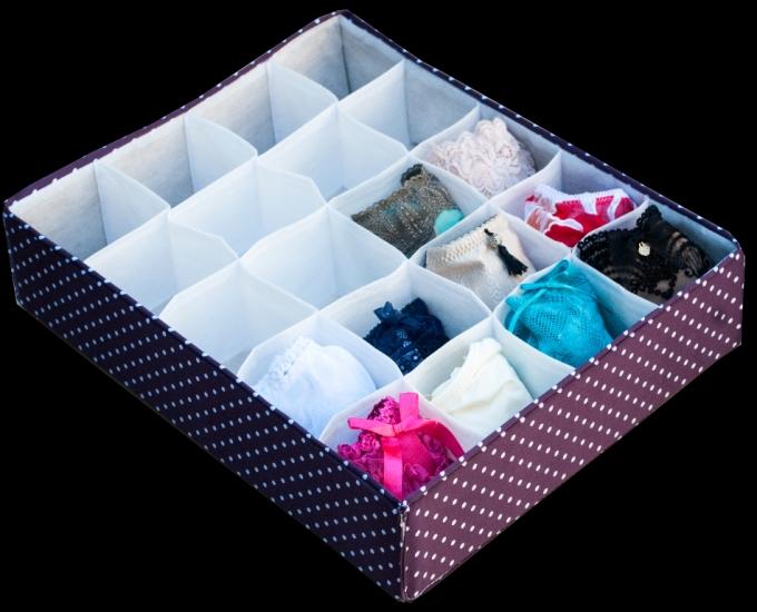 Фото - Органайзер на 20 ячеек фиолетовый  горох купить в киеве на подарок, цена, отзывы