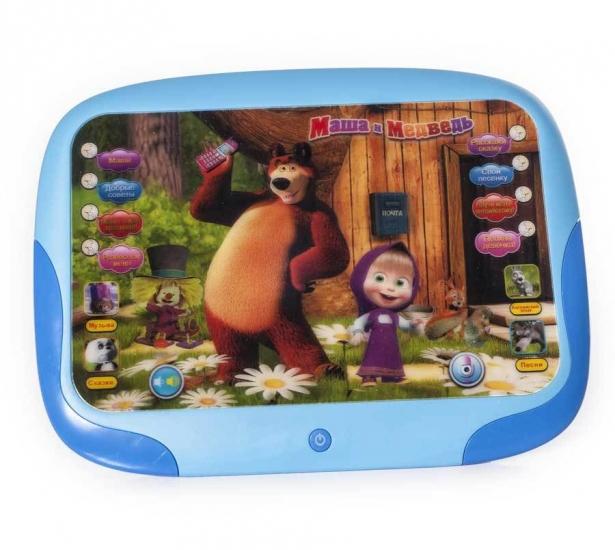 Фото - Интерактивный ЗD планшет Маша и Медведь купить в киеве на подарок, цена, отзывы