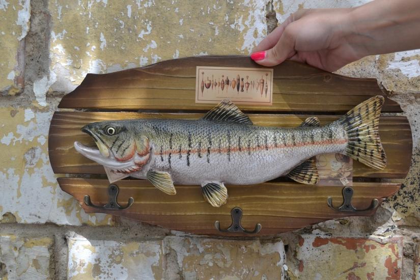 Фото - Ключница настенная  Рыбаку со стажем купить в киеве на подарок, цена, отзывы