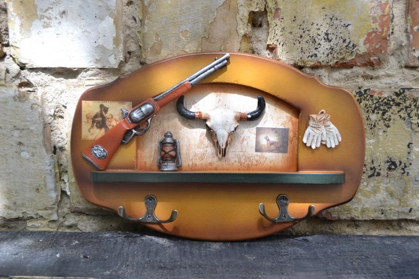Фото - Ключница настенная Охотнику купить в киеве на подарок, цена, отзывы