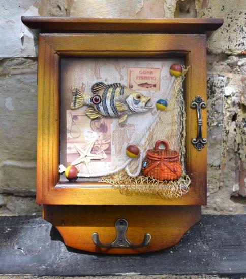 Фото - Ключница настенная Рыба купить в киеве на подарок, цена, отзывы
