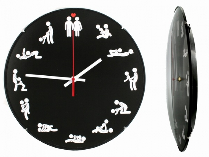 Фото - Часы настенные Камасутра купить в киеве на подарок, цена, отзывы
