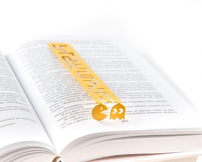 Фото - Закладка для книг Пиксели купить в киеве на подарок, цена, отзывы