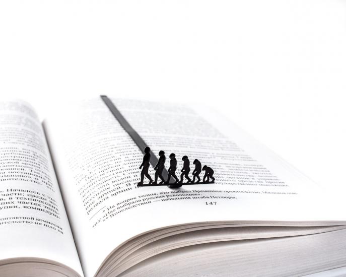 Фото - Закладка для книг Эволюция купить в киеве на подарок, цена, отзывы