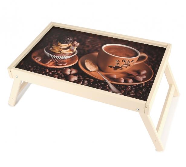 Фото - Столик для завтрака Кофе купить в киеве на подарок, цена, отзывы