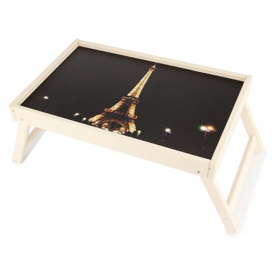 Фото - Столик для завтрака Ночной Париж купить в киеве на подарок, цена, отзывы