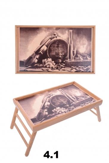 Фото - Столик для завтрака пьяная скрипка купить в киеве на подарок, цена, отзывы