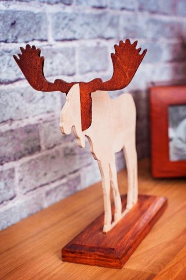 Фото - Подставка для украшений в форме Лося купить в киеве на подарок, цена, отзывы