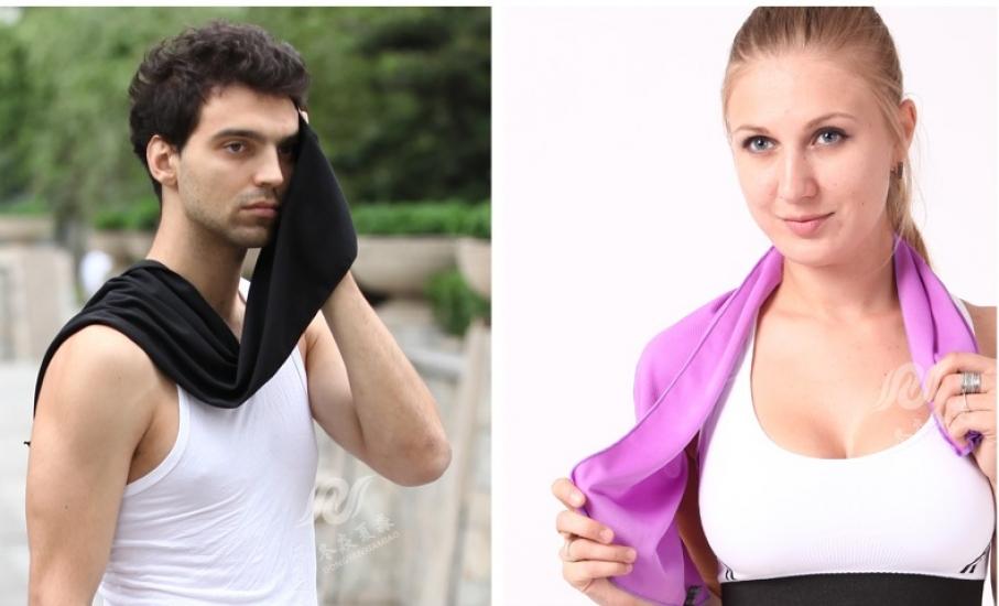 Фото - Охлаждающее полотенце  Ailay cold towel купить в киеве на подарок, цена, отзывы
