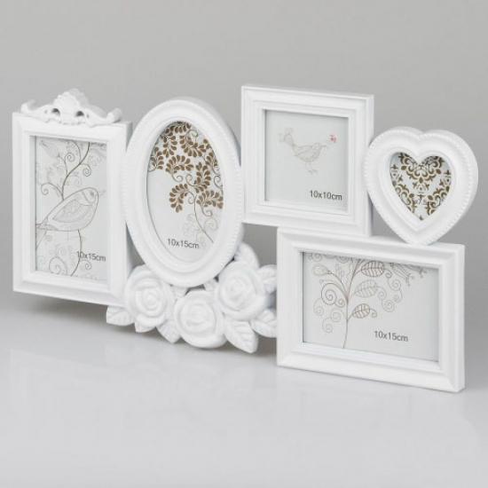 Фото - Фотоколлаж (49.5x26.5x2 см) белый купить в киеве на подарок, цена, отзывы