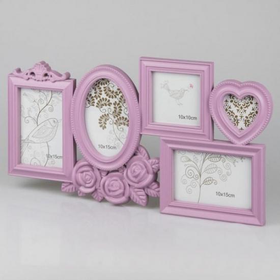 Фото - Фотоколлаж (49.5x26.5x2 см) розовый купить в киеве на подарок, цена, отзывы