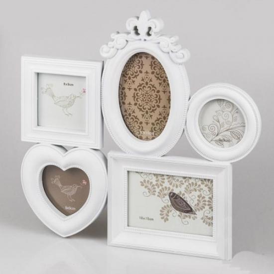 Фото - Фотоколлаж (39x37x2 см) белый купить в киеве на подарок, цена, отзывы
