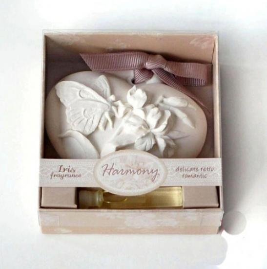 Фото - Аромакамень Ирис с бабочкой купить в киеве на подарок, цена, отзывы