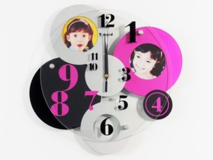 Фото - Часы настенные фигурные кружки купить в киеве на подарок, цена, отзывы